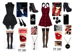 """cool"" by carmentellez5 ❤ liked on Polyvore featuring Roc & Doll, Wolford, Charlotte Tilbury, Maybelline, Speed Limit 98, MICHAEL Michael Kors, Casetify and And Mary"