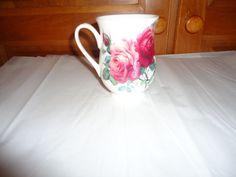 Roy Kirkham English Rose Handled Mug.  Made in England.  2 Available. #RoyKirkham