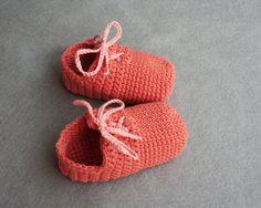 Cotton Crochet Baby Booties