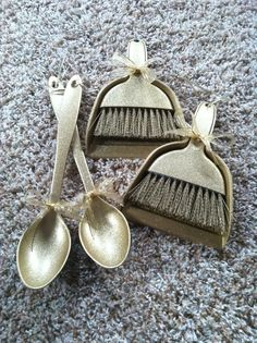 Golden Spoon Award for good behavior in the cafeteria and the Golden Dust Pan/Broom for custodians to award to the cleanest classrooms