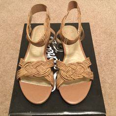NIB Seychelles Sandals Never been worn, man made upper and true to size. Seychelles Shoes Sandals