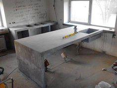 Кухня из бетона / Интерьер / Архимир