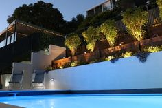 Winners of the Best Residential Landscape and Pool Construction Design at the 2018 Landscape Queensland Construction Excellence Awards. Contact our design team to discuss your swimming pool project needs. Swimming Pool Landscaping, Landscaping Ideas, Swimming Pools, Concrete Pool, Building A Pool, Brisbane Australia, Pool Builders, Construction Design, Pool Designs
