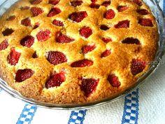 Пирог с клубникой. Очень вкусный и быстрый десерт! - womanlifeclub.ru