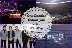 One Direction Concert June 2014 Wembley Stadium VLOG ♥ | Asia Jade