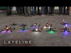 An Intense Video Capturing the Sport of First Person View (FPV) Drone Racing
