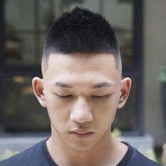 46 Trendy Haircut For Men Undercut Boy Hair Haircuts Straight Hair, Trendy Mens Haircuts, Short Layered Haircuts, Cool Hairstyles For Men, Boy Hairstyles, Cool Haircuts, Asian Hairstyles, Men's Haircuts, Short Wavy