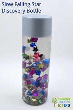 Slow Falling Star Discovery Bottle for kids