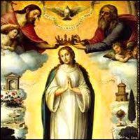 María Reina, Santa