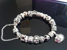 Full silver Pandora bracelet. #MyPandora Pandora At Jackson Diamond Jewelers in Enid, Oklahoma