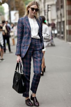 Pin for Later: 31 Ways to Reinvent Your Work Wardrobe Go for a suit with more personality.
