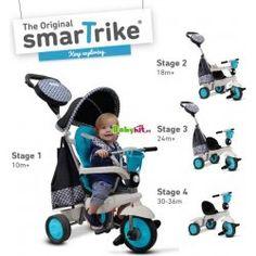 Smart Trike 6500800 Dětská tříkolka Deluxe 4v1