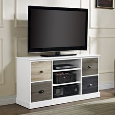 Beachcrest Home Okaloosa TV Stand & Reviews | Wayfair