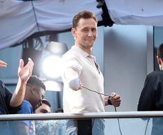 Tom Hiddleston. #SDCC 2016 Via Torrilla.