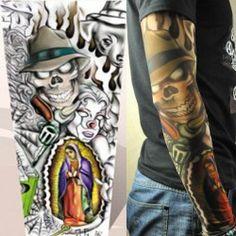 Falošné tetovanie - rukáv FT 54