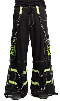 BioHazard Bondage Pants for Ravers