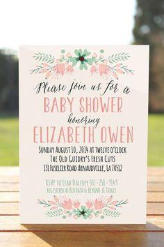 tarjeta original para baby shower