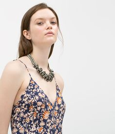 ZARA - WOMAN - SHINY STONE NECKLACE