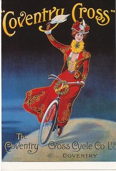 Vintage Bicycle Postcards: an image gallery on Cyclorama