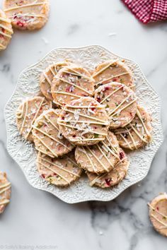Santa S Whiskers Coo Santa S Whiskers Cookies With Cherries Almond