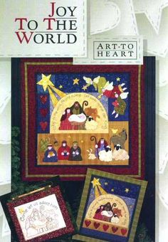 Art To Heart - Joy To The World Patterns