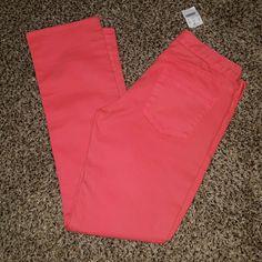 Bnwt J. CREW stretch pants Never worn, size 29, hot pink, inseam 31 J. Crew Pants Skinny