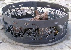 $211.99  (CLICK IMAGE TWICE FOR UPDATED PRICING AND INFO) Fire Ring Pit - Swiming Ducks Steel Campfire Ring - 48 Inch.See More Outdoor Fire Pits at http://www.zbuys.com/level.php?node=3903=outdoor-firepits