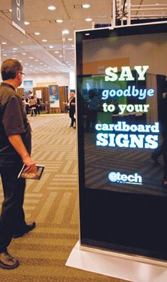 15 Gadgets, Apps & Tech Tools for Meetings  PowerSlide allows planners to customize digital signage products using Powerpoint.