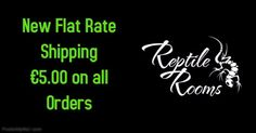 Welcome to Reptile Rooms your online reptile shop.Our aim is to provide the widest range of products at the lowest prices direct to your door.   We sell a vast range of livestock and products specifically designed to meet your reptile needs including reptile vivarium's, reptile books, live food, vivarium, substrates, plants, thermostats, thermometers, UV bulbs, heat bulbs, heat mats and vitamin and mineral supplements and much more!  Live animals are only supplied in store.  If you can...