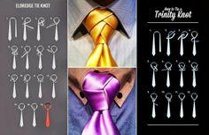 como se hace nudo de corbata