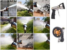 Garden Hose Nozzle Sprayer With Pistol Grip Trigger Nozzles Lawn Pattern Spayers #GardenHoseNozzleSprayerWithPistolGripTrigger#soil#patio#nozzles#sprayers
