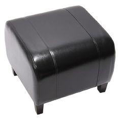 http://ift.tt/1PfbkRS Hocker Sitzwürfel Sitzhocker Emmen LEDER 37x45x47 cm  schwarz &vixopi#