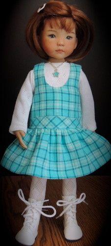 "School Jumper Shirt Necklace Fits Dianna Effner 13"" Little Darling | eBay"