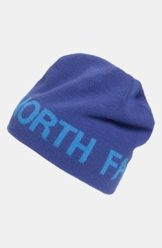 The North Face Reversible Beanie | $25 | gifts for the sporty guy | mens beanie | athletic | sports | menswear | mens style | mens fashion | wantering http://www.wantering.com/mens-clothing-item/the-north-face-reversible-beanie/ag9nB/