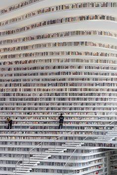 Ein Paradies für Bücherwürmer: Kunstvolle Bibliothek im chinesischen Tianjin Für gewöhnlich ziehen es Leseratten vor, sich bei einem frisch gebrühten Kaffee, Tee oder Kakao in den heimischen Ohrensessel zurückzuziehen und...