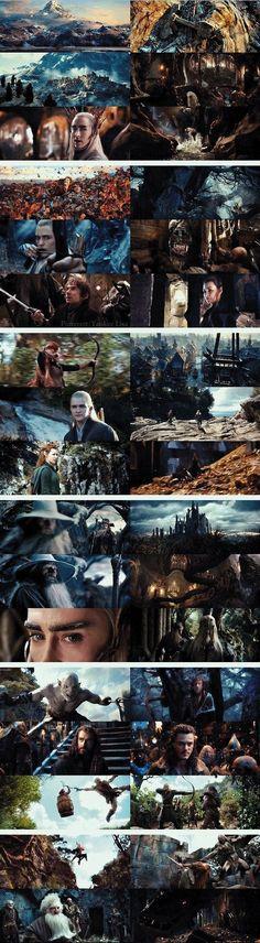 Collage Hobbit