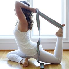 WHAT'S YOUR MOST BEAUTIFUL POSE? Find your most beautiful pose with the most breathtaking yoga straps available. Our 8ft strap is a great length for taller yogis or yoginis and perfect for more compli