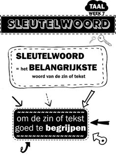 Learn Dutch, Dutch Language, Co Teaching, Close Reading, School Hacks, Primary School, Kids Learning, Spelling, My Passion