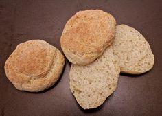 Gluten- og laktosefrie GODE rundstykker med havre Low Fodmap, No Bake Cake, Rolls, Gluten Free, Bread, Diet, Baking, Food, Glutenfree