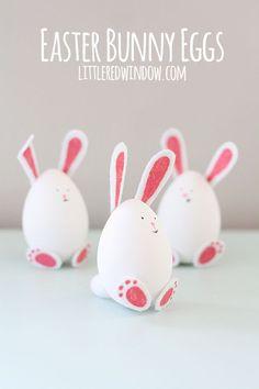 19 Egyszerű húsvéti dekorációs ötlet ~ Készítsd Otthon