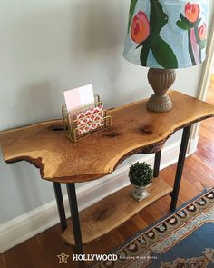 Live Edge Dining Table Monkeypod Live Edge Entryway Console Table Sofa Table Rustic Industrial Mid Century Modern White Oak Wood Slab Double Shelf The post Live Edge Dining Table Monkeypod appeared first on Wood Ideas. Rustic Industrial Furniture, Rustic Wood, Rustic Decor, Modern Rustic, Rustic Sofa Tables, Unique Wood Furniture, Industrial Bookshelf, Industrial Windows, Rustic Chair