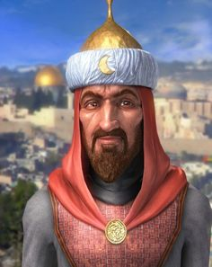 Saladin was a great Muslim warrior who made the history by defeating a huge army to win the Jerusalem. His laqab was Salah ad-Din. This great Muslim warrior was born in Mesopotamia in 1138 who is widely known among as the anti-hero to the Western people for his greatest victory of Jerusalem. Saladin left the world in 1193 after falling into a fever.