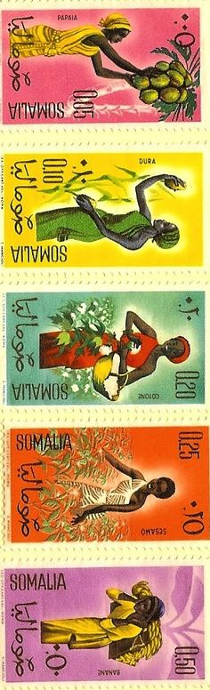 Stamps: Somalia - Rural Workers