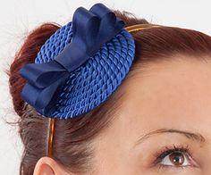 See post: Fascinator DIY Tutorial: Hat-Headband Made Of Satin Ribbon And Cord