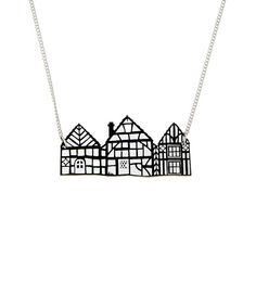 Tudor House Necklace £40 (sale £32) - SS15