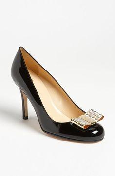 88362f32fcdf Kate Spade  Karolina  pumps. Prettiest shoes I own.