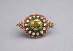 A fine diamond and enamelled bazuband (19th century), Susan Ollemans, London (£POA).