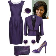 """""""Untitled"""" by ivanamb on Polyvore. Yes, I know that FLOTUS is beyond a socialite."""