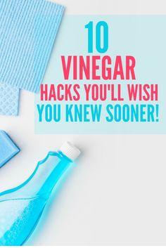 10 Vinegar Hacks You'll Wish You Knew Sooner