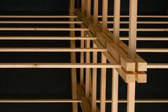 Detalle de estructura de madera
